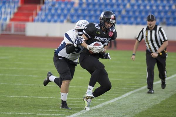 Americký fotbal: Prague Lions - Vysočina Gladiators