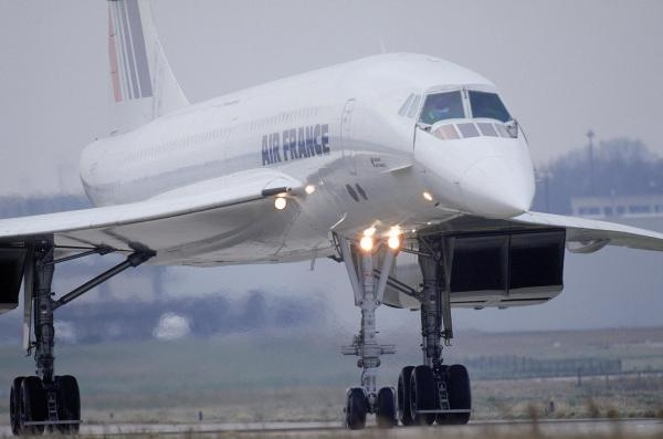 Concorde, závod o rychlost zvuku