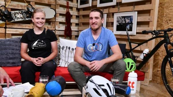 Outdoor Films s Markétou Peggy Marvanovou a Adamem Záviškou