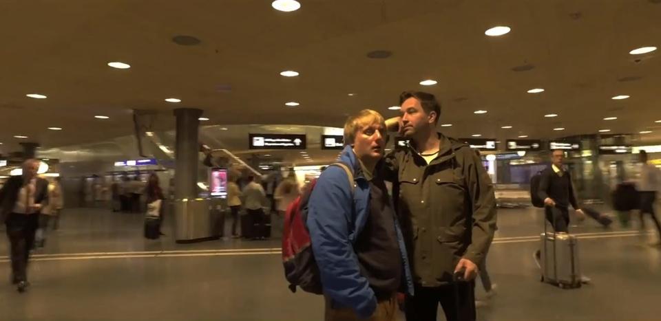 Documentary Cesta kolem světa s Ondřejem Sokolem a Lukášem Pavláskem
