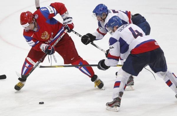 Hokej: Slovensko - Rusko